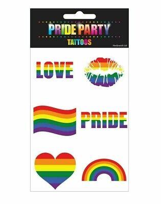 Rainbow Tattoos (PRIDE RAINBOW TEMPORARY)