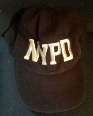 NYPD Baseball Cap Navy Blue Snapback Hat New York Policeman Dad Hats