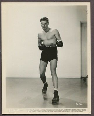 ERROL FLYNN Gorgeous Hunk ORIGINAL 1937 Photo Sexy Man Boxer Gay Interest 1712