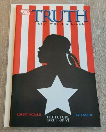 Truth Red, White & Black #1 1ST Isaiah Bradley Marvel 2003
