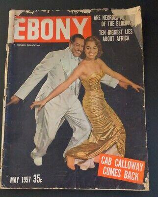 EBONY May 1957 Black Magazine CAB CALLOWAY Cover SCREAMIN' JAY HAWKINS