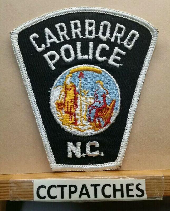 CARRBORO, NORTH CAROLINA POLICE SHOULDER PATCH NC