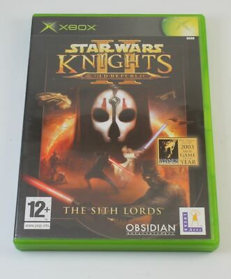 Star Wars Knights of the Old Republic II the Sith Lords (xBox)