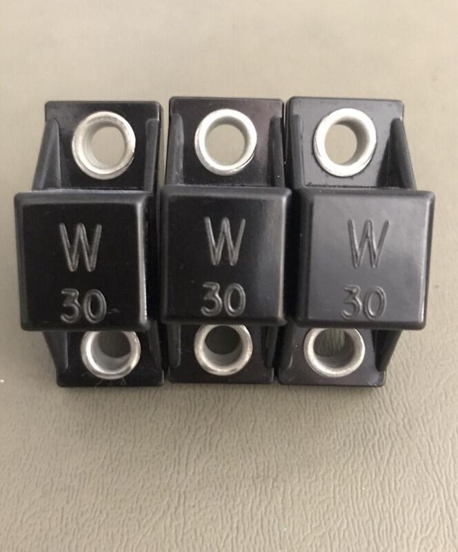ALLEN BRADLEY W30 Overload HEATER Element  Lot Of 3