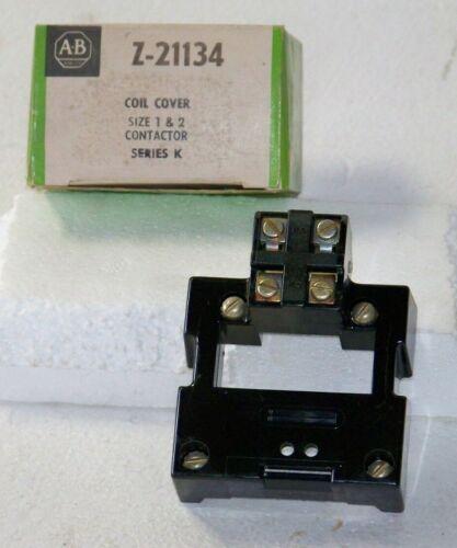 Z-21134 Allen Bradley coil cover size 1&2 contactor series K