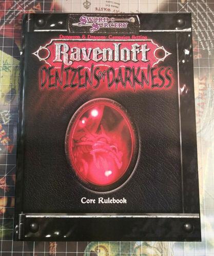 Denizens of Darkness - Ravenloft - Softcover - AD&D D&D Monster Manual