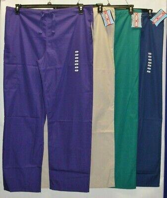 Cherokee Workwear Scrubs Pants Unisex Men Women Drawstring Cargo Pants 4100 # 3 4100 Unisex Drawstring Pant