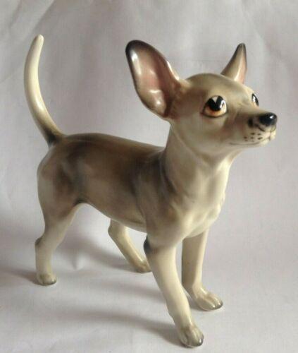Ucagco Chihuahua dog ceramic statue