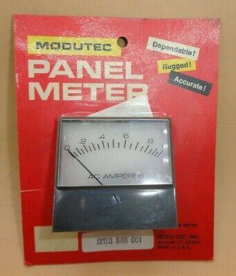 Analog Ac Amperes Meter 0 - 1 Panel Meter