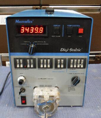 Masterflex 7527-34 Digi-staltic Drive 7021-26 Pump Head
