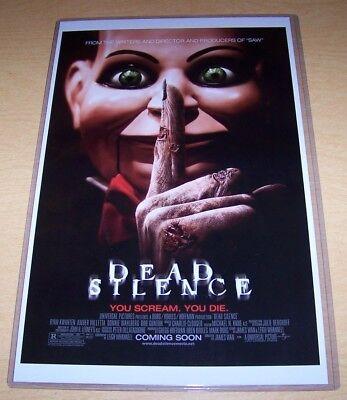 Dead Silence Billy Puppet Mary Shaw 11X17 Movie Poster James Wan Bob Gunton