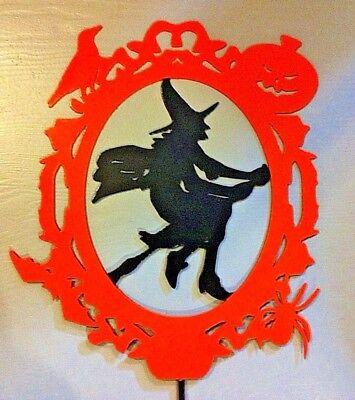 Halloween Metal Garden Stake  - Halloween Garden Stakes