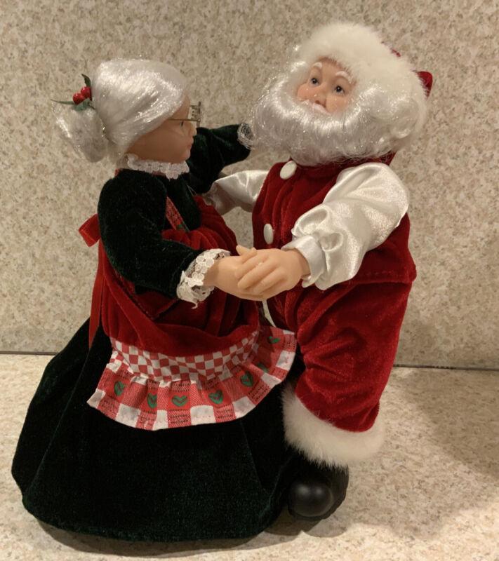 2002 Mr Christmas Musical Really Dancing Santa Mrs Claus 15 Christmas Carols