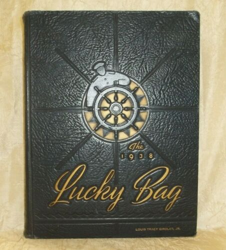 1938 Lucky Bag United States Naval Academy Annual Regiment of Midshipmen