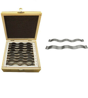 9 Pairs 18pcs 12 To 1-12 Inch Steel Parallel Set Precision Machinist
