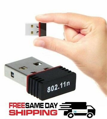Mini USB WiFi WLAN RealTek 150Mbps Wireless Network Adapter Windows 802.11n/g/b