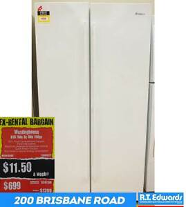 Westinghouse 610L Side By Side Fridge with Warranty Booval Ipswich City Preview