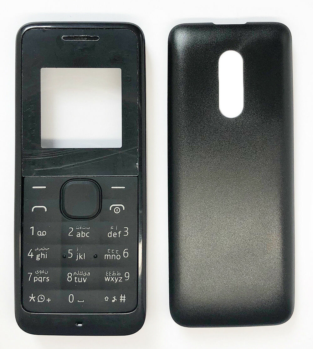 brand new 35bb5 38569 Details about New Housing /Fascia /Case /Cover For Nokia 105 (2013) - Black