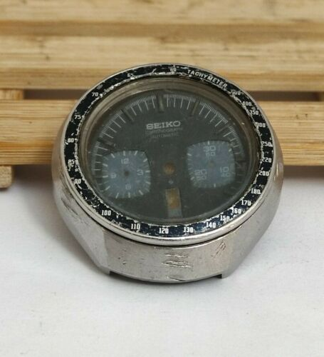SEIKO 6138-0040  Bullhead  Only Case / Dial  For parts Japan