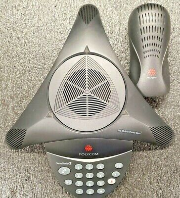 Polycom Soundstation 2 Non-expandable 2201-15100-601 Conference Phone Wadapter