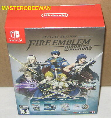 Fire Emblem Warriors Special Edition New Sealed  Nintendo Switch  2017