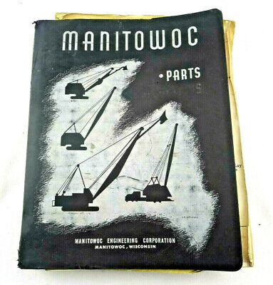 Manitowoc 3600 Dipper Dredge Manual Serial 36035 Pre-owned Oem Free Shipping