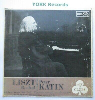 ACL 217 - LISZT - Recital PETER KATIN - Excellent Condition LP Record