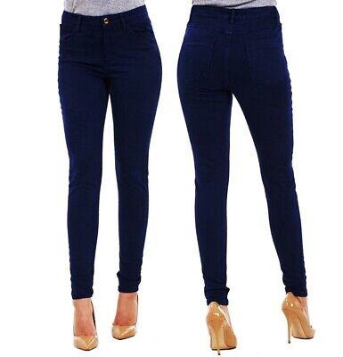 Ladies Ex Zara Woman Skinny Jeans Womens Stretch Denim Slim High Pants Jeggings