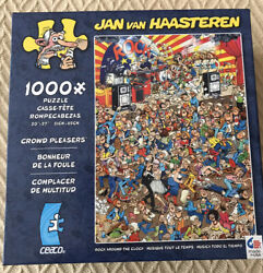 Jan Van Haasteren Rock Around The Clock 1000 Pc Jigsaw Puzzle