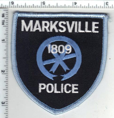 Marksville Police (Louisiana) Shoulder Patch - new from the 1980