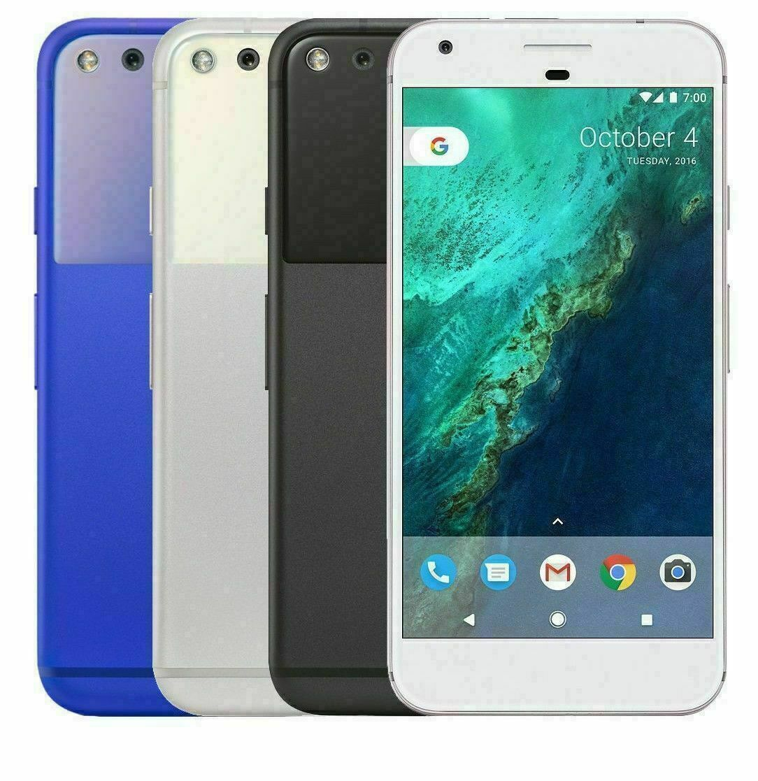 Android Phone - Google Pixel - 32GB 128GB - GSM + CDMA Factory Unlocked LTE Android Smartphone