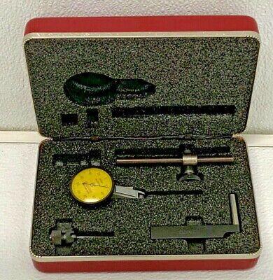 Starrett No. 708ma .002mm Test Indicator Set With Case 15a