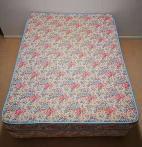Double size bed and matching mattress
