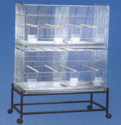 Extra Large Bird Canary Finch Cockatiel Parakeet Breeder cages With Stand -121