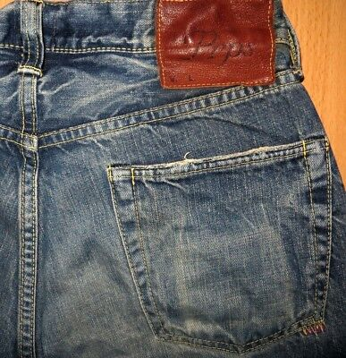ORIGINAL PRPS LUXUS JEANS STRAIGHT-CUT BLUE W 30/31 L 32 BARRACUDA DEMON FURY for sale  Shipping to South Africa