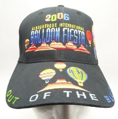ional Balloon Fiesta Hat 2006 Black Cap Out of the Blue Cap (Fiesta Hat)