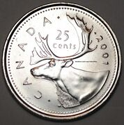 2001 Canadian Quarter