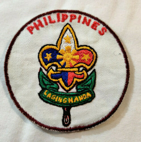 Vtg Philippines Patch BSA Laging Handa