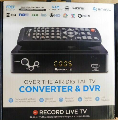 Ematic Digital Converter w/ LED Display (AT103/C)
