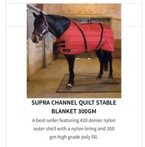 SUPRA Stable blanket RED 78