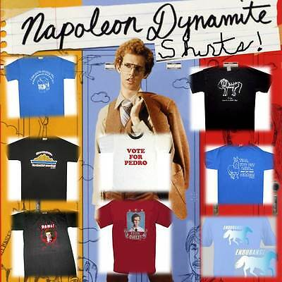 Choose From Official Licensed Movie Napoleon Dynamite Inspired T Shirt Tees