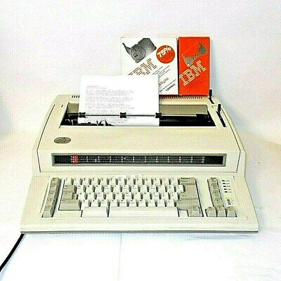 Ibm Personal Wheelwriter Electronic Typewriter-6781 With Printer Option Extras