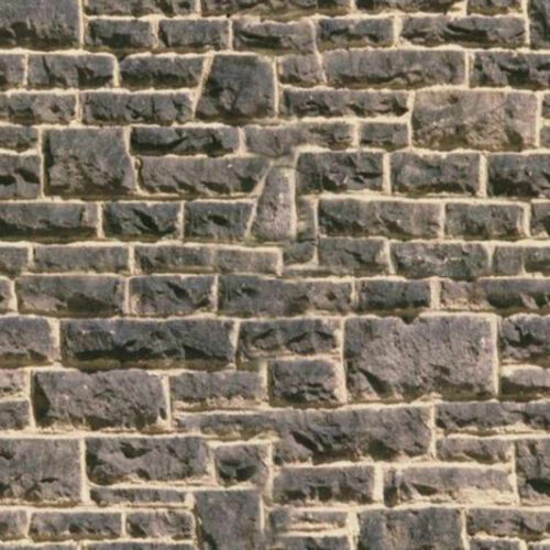 16 SHEETS EMBOSSED STONE brick TEXTURED  wall .EACH 20x28cm 1 Gauge 1/32 paper