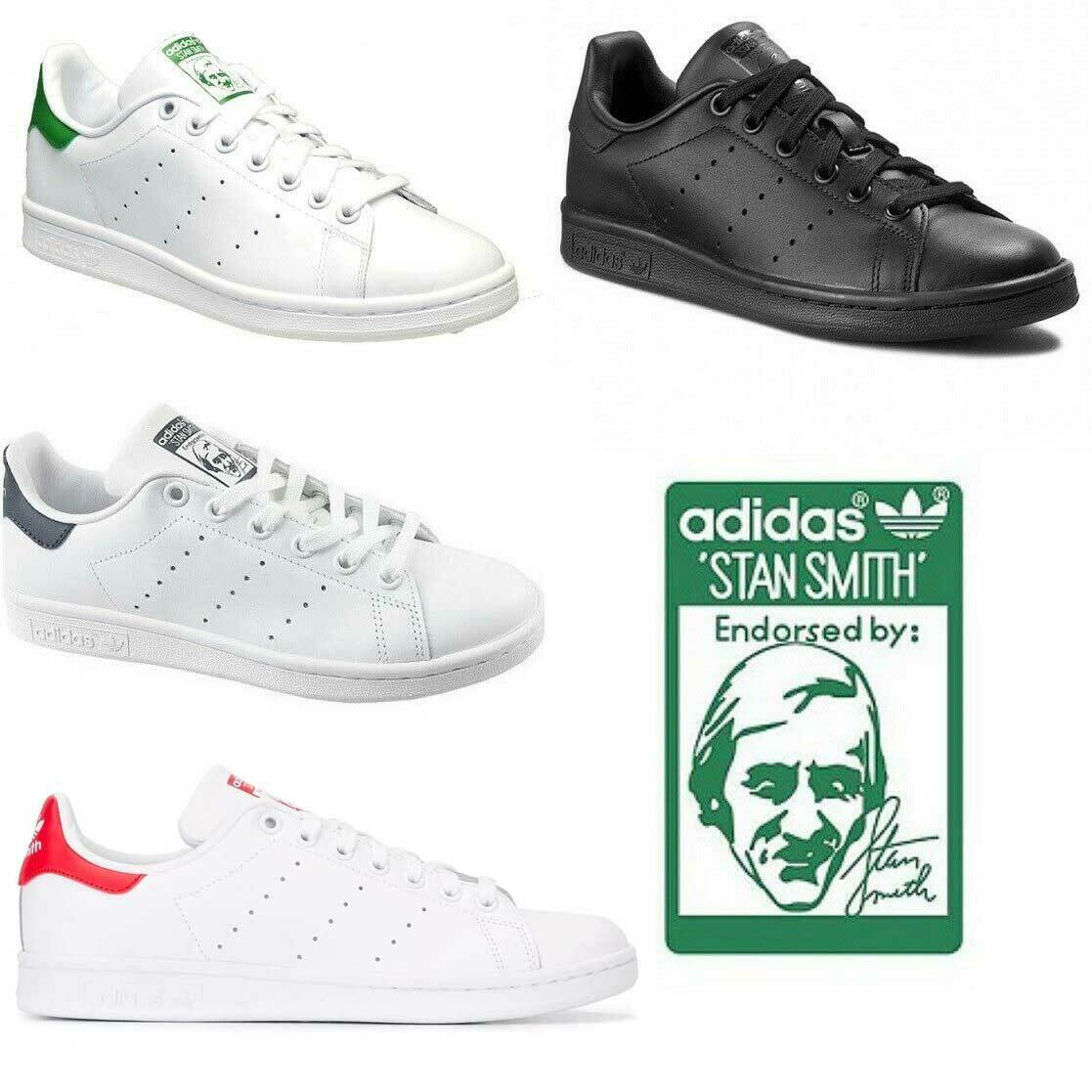 best service f81fb 943e8 Adidas Mens/Women Stan Smith casual shoes fashion leather shoe flats  sneakers