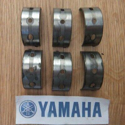 <em>YAMAHA</em> TDM 850 TDM850 3VD CRANKSHAFT BEARING SHELLS SET AS SHOWN 1991