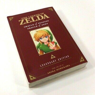 Legend of Zelda Manga Legendary Edition Oracle of Seasons Ages Akira Himekawa