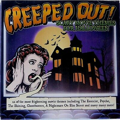 Themes For Halloween (CD Halloween Creeped Out Scary Movie Themes For Halloween Creepy)