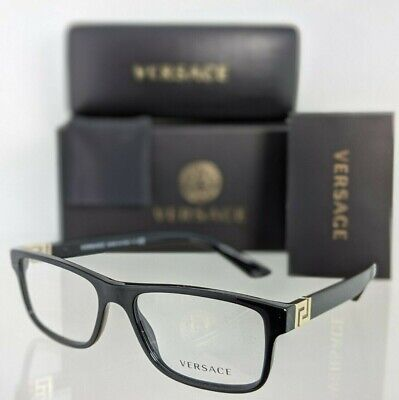 Brand New Authentic Versace Eyeglasses MOD. 3211 GB1 55mm Frame VE3211 Frame