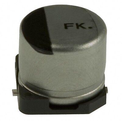 Lot Of 57 Panasonic Cap Alum 22uf 35v 20 Smd Eev-fk1v220r Pce3415ct-nd Q20