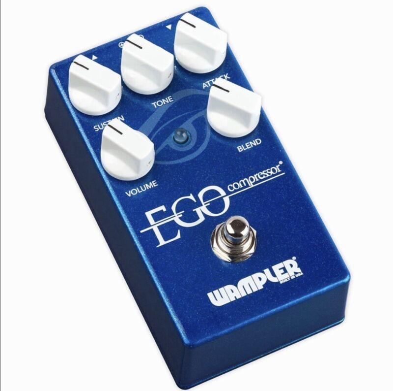 Wampler EGO Compressor Guitar Effects Pedal + Adapter